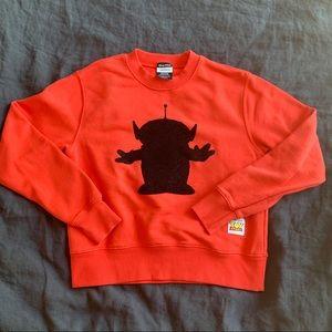 Forever 21 X Pixar Toy Story crew neck sweatshirt